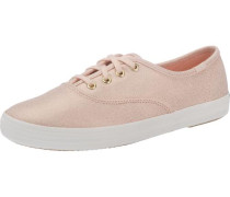 'Champion Metallic Canvas' Sneakers rosa