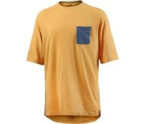 Oversize Shirt senf