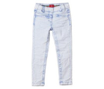 Treggings Skinny: Moonwashed-Jeans hellblau