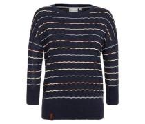 Female Knit 'Majas Lieblingspulli IV' blau