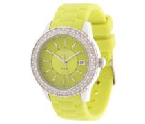Armbanduhr Es106212003 gelb / grün