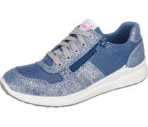 Kinder Sneakers WMS-Weite M4 blau