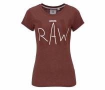 Shirt 'Makea' braun
