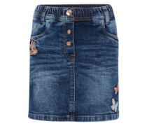 Jeansrock 'cute denim skirt with badges'