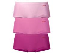 Baumwoll-Panty (3 Stck.) lila / pink