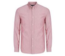 Langarmhemd pastellrot