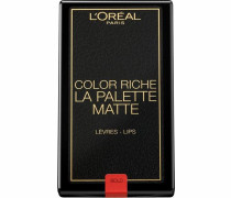 'Color Riche La Palette Lip Matte Addiction' Lippenstift mischfarben
