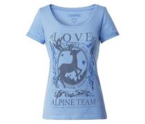 Shirt Yoko blau / grau