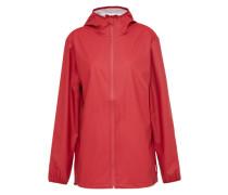 Oversized-Regenjacke 'Pacific' mit Reißverschluss rot