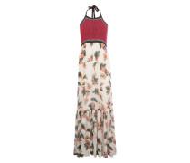 Maxi-Kleid 'Roshni' rot / weiß