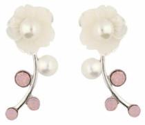 Paar Ohrstecker »Blume« silber