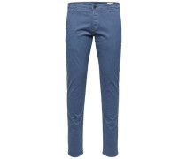 Chino Slim Fit blau