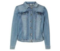 Langärmelige Jacke blau