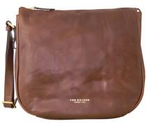 Sfoderata Luxe Donna Henkeltasche Leder 36 cm braun