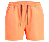 Klassische Badeshorts orange