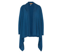 Strickjacke mit Alpaka 'Wittiana' blau