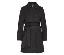 Coat mit Kaschmir 'Norma' dunkelgrau