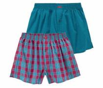 Bodywear Boxershorts (2 Stück) mischfarben