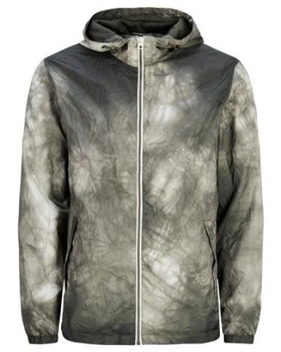 Verstaubare Leichte Jacke grün