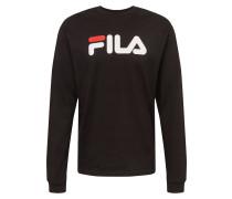 Sweatshirt 'Pure' weiß / rot / schwarz