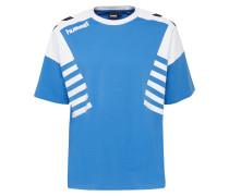 T-shirt weiß / blau