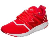 'wrl247-Ec-B' Sneaker Damen rot / weiß