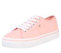 Sneaker weiß / koralle