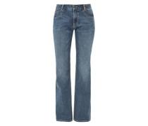 Smart Bootcut: Jeans mit Wascheffekt blue denim