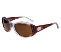 Sonnenbrille braun / pitaya / schwarz / transparent