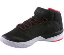 Sneaker hellrot / schwarz