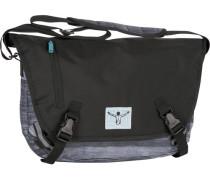 Sport Messenger 41 cm Laptopfach hellgrau / dunkelgrau