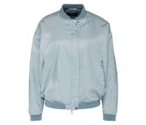 Jacke im Bomber-Stil hellblau