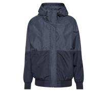 Jacke 'Blurred Jacket' schwarz