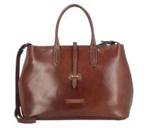 Dalston Shopper Tasche Leder 36 cm braun