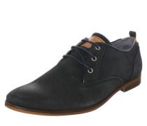 Schnürschuh 'Derby Plain blue sole 2' dunkelgrau
