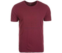 Box Star Quilted T-Shirt Herren rot