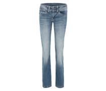 Gerade geschnittene Jeans 'Banji' blau