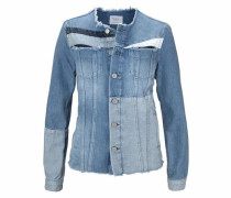 Jeansjacke 'layercake Jacket' blue denim