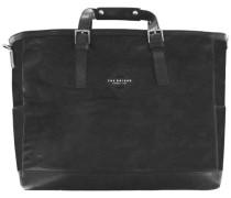 Patch Luxe Weekender Tasche 45 cm schwarz
