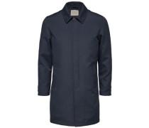 Klassischer Mantel blau
