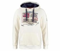 Kapuzensweatshirt creme / mischfarben