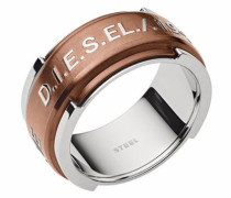 Fingerring »Dx1097040« bronze / silber