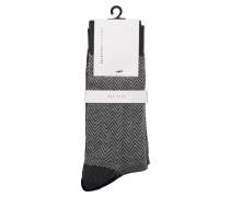 Socken 3er-Pack grau