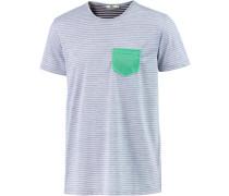'Walima' T-Shirt Herren rauchblau