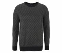 Wollpullover schwarz