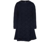 Spitzen-Kleid mit langen Ärmeln nitindira nachtblau