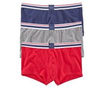 bequeme Pants mit weichem Webbund marine / grau / rot