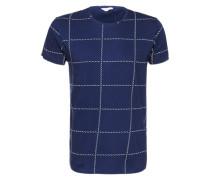 T-Shirt 'Time' blau