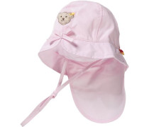 Baby Sonnenhut für Mädchen rosa