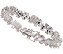 Armband »Elefanten« mit Zirkonia silber